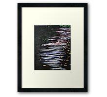 CURRENT Framed Print