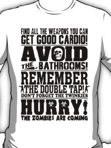 Hurry #2 Black T-Shirt