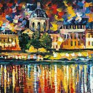 PARIS ART INSTITUTE - LEONID AFREMOV by Leonid  Afremov
