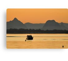 Tranquility - from Bribie Island  Canvas Print