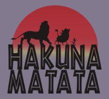 HAKUNA MATATA (day edition) Kids Tee