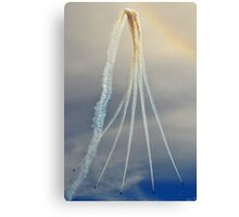 Red Arrows - Flight Path Canvas Print
