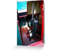 Bolinder Diesel Engine Greeting Card