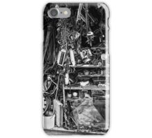 cluttered garage  iPhone Case/Skin