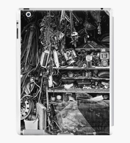 cluttered garage  iPad Case/Skin