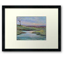 Soledad (lone tree in a Kenyan Landscape) Framed Print