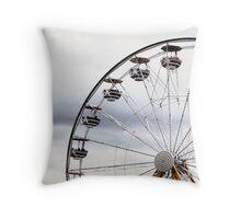 Ferris Wheel at the Fair Throw Pillow