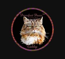 Purrrfect Paws™ Tabby T-shirt Womens Fitted T-Shirt