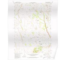 USGS Topo Map Oregon Elk Butte 279778 1981 24000 Poster