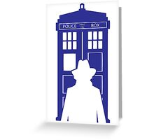 The Tardis Of Baker Greeting Card