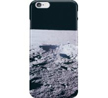 Apollo Archive 0035 Moon Lunar Surface and Horizon iPhone Case/Skin