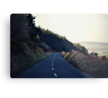 Country Roads (With a View to the Hills) Metal Print