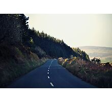 Country Roads (With a View to the Hills) Photographic Print