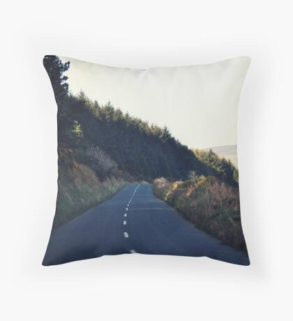 Country Roads (With a View to the Hills) Throw Pillow