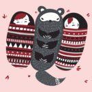Sleeping-bag Monster by Rosemary Black