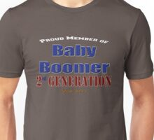 Proud Member of 2nd Generation Baby Boomer Unisex T-Shirt