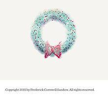 Christmas Wreath 2015 by Frederick Cornwell Sanders