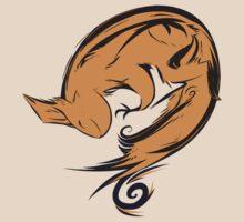 Swirl squirrel T-Shirt