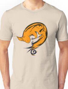 Swirl squirrel Unisex T-Shirt