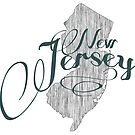 New Jersey State Typography by surgedesigns
