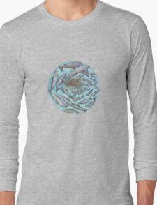 Salmon, the circle of life Long Sleeve T-Shirt
