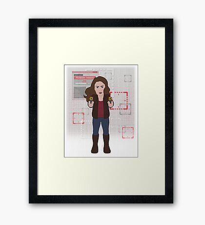POI Chibi: Root Framed Print