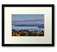 Lake Constance near Überlingen, Germany Framed Print
