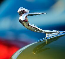 1936 Cadillac Hood Ornament by Jill Reger