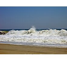 Riding the Surf at Hatteras  Photographic Print