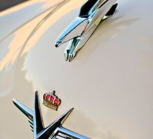 1953 Chrysler Imperial Custom Hood Ornament by Jill Reger