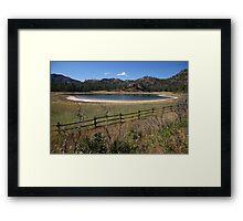 Mahoney Lake Ecological Reserve Framed Print