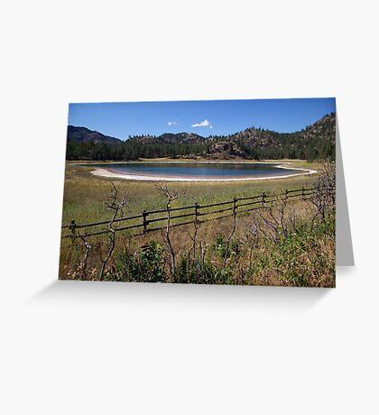 Mahoney Lake Ecological Reserve Greeting Card