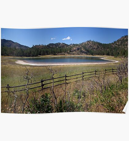 Mahoney Lake Ecological Reserve Poster
