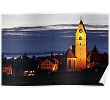 Church of Hagnau - Lake Constance Poster
