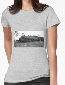 Locomotive 8 Womens Fitted T-Shirt