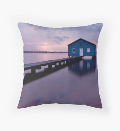 On the Swan River  Throw Pillow