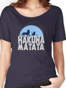 HAKUNA MATATA (night edition) Women's Relaxed Fit T-Shirt