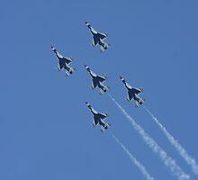 USAF Thunderbirds by Karl R. Martin