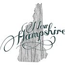 New Hampshire State Typography by surgedesigns
