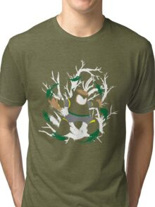 Wood Man Splattery Vector T Tri-blend T-Shirt
