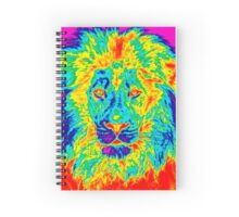 Lion colored! Spiral Notebook