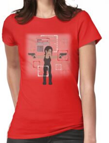 POI Chibi: Shaw Womens Fitted T-Shirt
