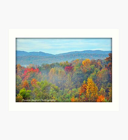 The Great Smoky Mountains Art Print