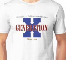 Proud Member of Generation X Unisex T-Shirt