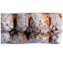 Almond Croissant Poster