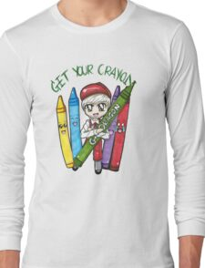 Get your Crayon- G-Dragon Long Sleeve T-Shirt