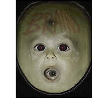 Screaming Alien Baby Brains Photographic Print