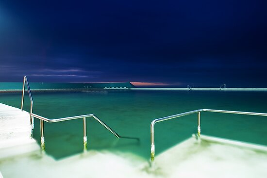 Newcastle Baths by Melina Roberts