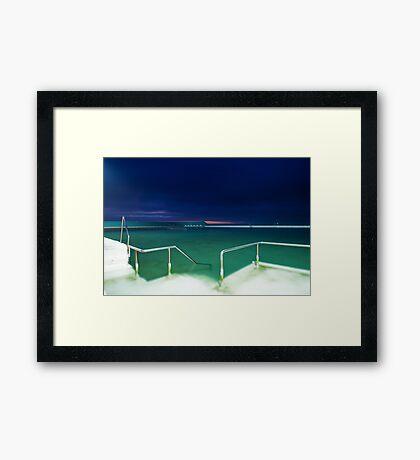 Newcastle Baths Framed Print