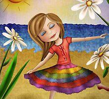 Rainbow Princess by Kristy Spring-Brown